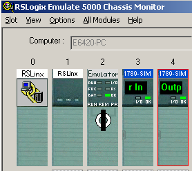 Configuring Emulate 5000 with I/O and going online